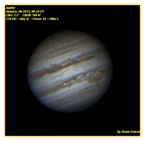Jupiter - High Resolution - Avani Soares